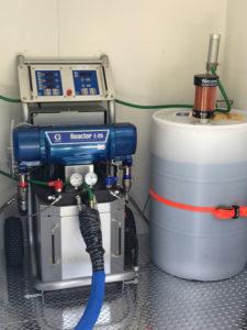 Polyurethane Machine & Resin Barrel